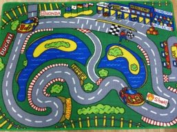 nice children traffic play mats